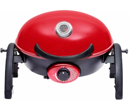 Ziggy Portable Grill – Chilli Red